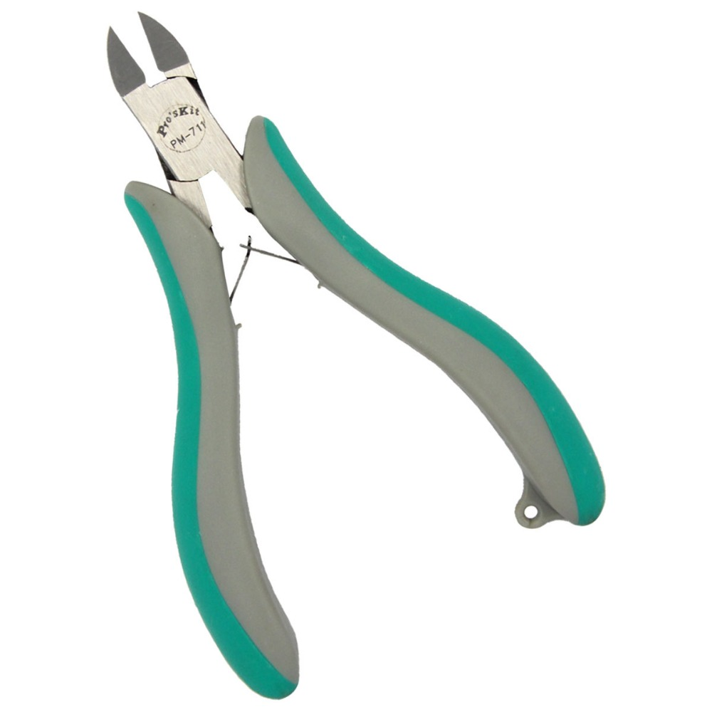 Proskit PM-711 Precision Diagonal Cutting Pliers Electronic Cable Cutter Hand Tools Sider Cutter Repair Tool