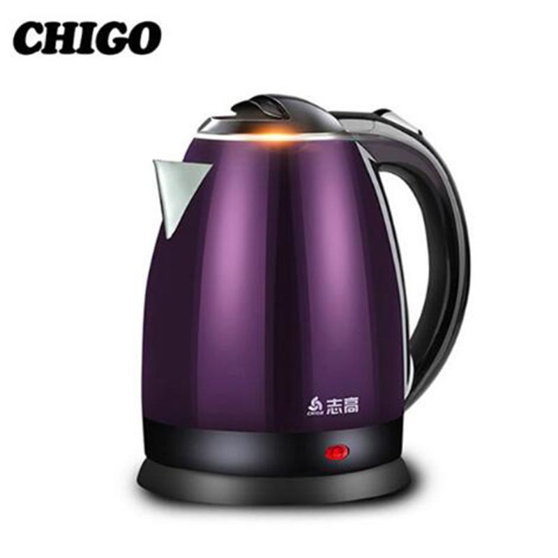 Chigo Electric Kettles Stainless Steel Smart Constant Temperature Control Water home 1.8L Thermal Insulation Teapot ZJ18A-708G8