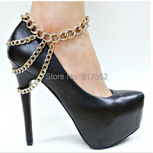 Free Shipping F25 Fashion Gold Plated Chain Ankle Chain Jewelry,ankle jewelry hot!