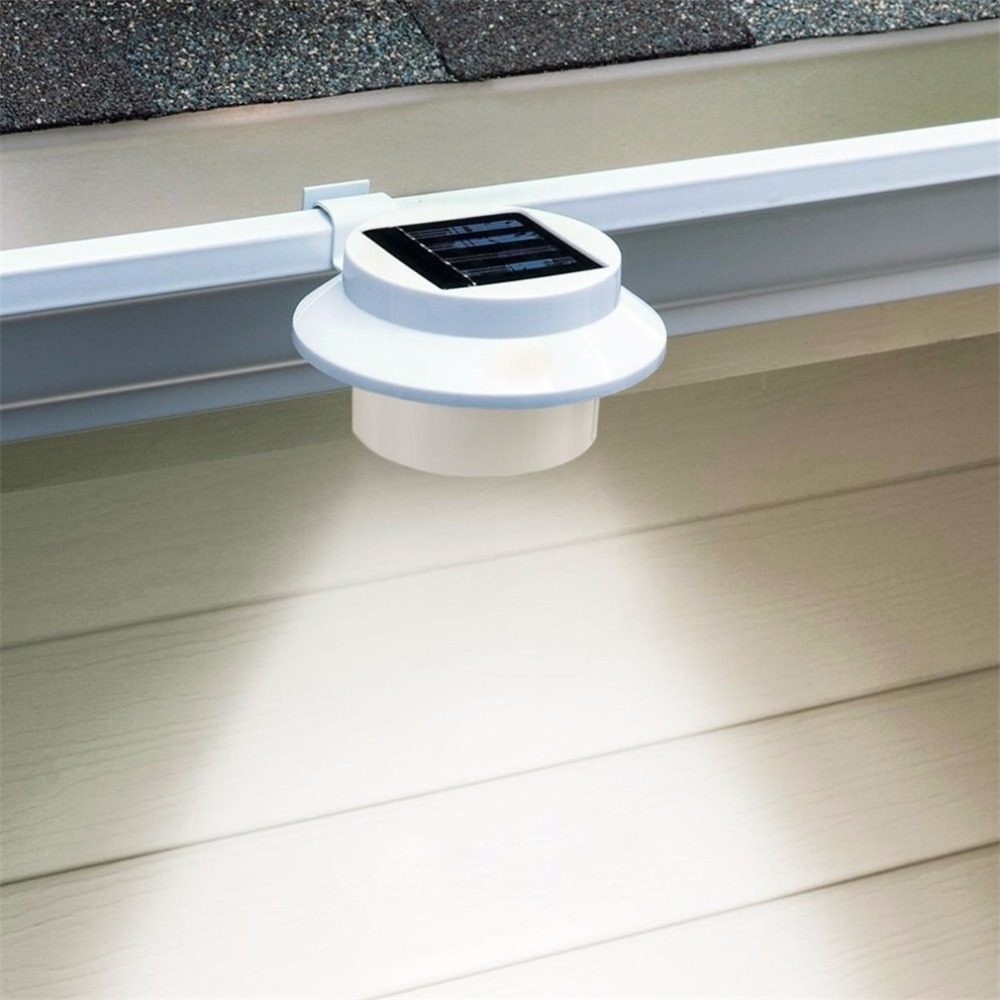 LED Solar Lamp Waterproof Solar Light 3 LED Street Light Outdoor Path Wall Lamp Security Spot Lighting Outdoor Home Garden Decor