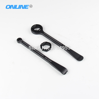 Tyre Iron Set Spanner Ring Set With Hex Wrench Head 10 12 22 27 32mm For