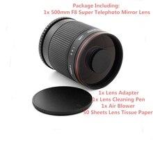 سوبر تليفوتوغرافي 500 مللي متر f/8 عدسات عاكسة لسامسونج NX NX 11 ، NX 20 ، NX 30 ، NX 100 ، NX 1100 ، NX 2000 ، NX 3000 ، كاميرا