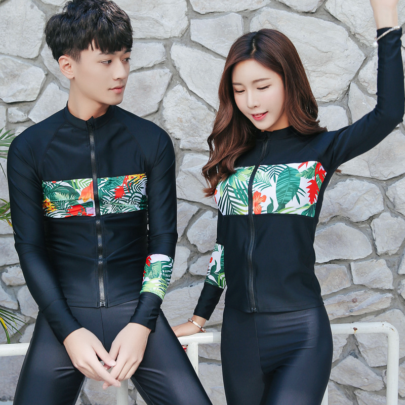 Men & Women Couples Set Surfing Diving Swimming Boating Rafting Dress Up Dry Wear 806 Long sleeve shirtand Long pants