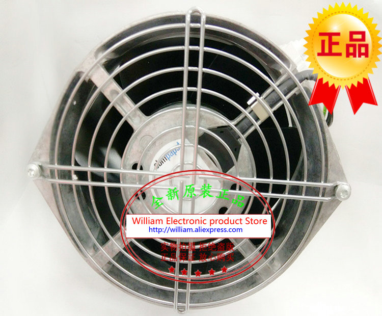 New Original EBM PAPST W2S130-AA03-71 AC230V 45W 150*55MM Cooling fan new original ebm papst 9906l 9906 l ac 115v 120ma 100ma 9w 8w 120x120x25mm axial cooling fan
