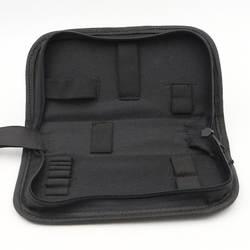 Черный Мультифункциональный холст ремонт часов портативный инструмент сумка на молнии хранения