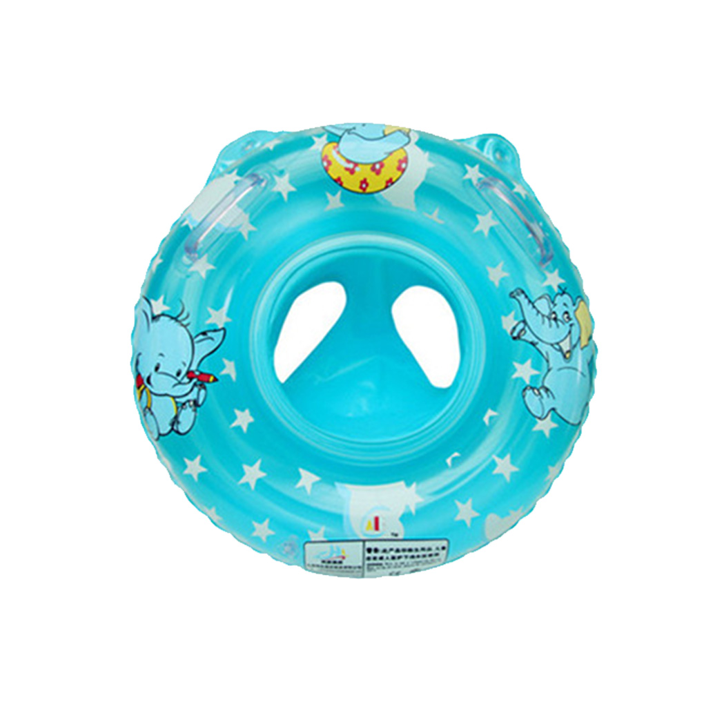 Elephant Thicken Inflatable Armpit Swimming Ring Infant Swim Circle Toddler Float Seat Trainer for Newborn Floatie