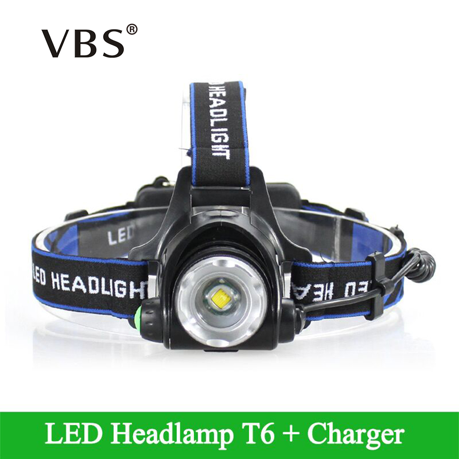 1 Pcs Head lamp LED Rechargeable CREE XM-L T6 Zoomable Headlight Waterproof Head Torch flashlight 3 Modes lantern on forehead sy3220 5lou c6 smc solenoid valve electromagnetic valve pneumatic component air tools sy3000 series