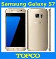 "Samsung galaxy s7 g930f original desbloqueado 4g lte gsm android teléfono móvil octa core 5.1 ""RAM 4 GB ROM 12MP 32 GB Dropshipping"