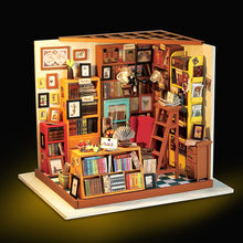 Assemble Wood Doll House Realistic 3D DIY Doll Houses Handmade Miniature Dollhouse Bookstore Model Toys for Children Decor Gifts(China)