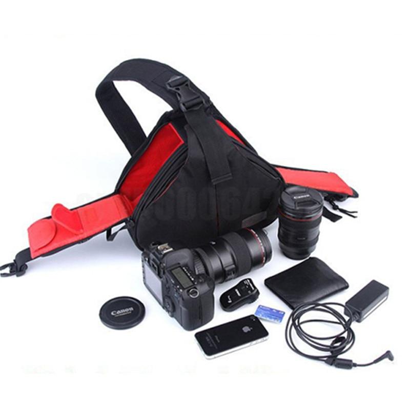 Triangle Waterproof Backpack Shoulder Camera Bag Case For Nikon DSLR D7200 D7100 D7000 D5300 D5200 D3300 D3200 D3000 P900 D900S