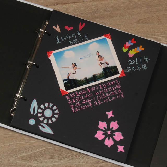 Online Shop 2018 New Diy Handmade Photo Album Baby Growing Up Lovers