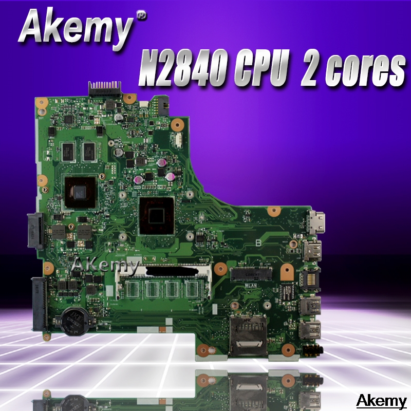 X450MJ Laptop Motherboard For Asus X450MD X450M X452M X450MJ Mainboard  100% Tested With N2840 CPU  2 coresX450MJ Laptop Motherboard For Asus X450MD X450M X452M X450MJ Mainboard  100% Tested With N2840 CPU  2 cores