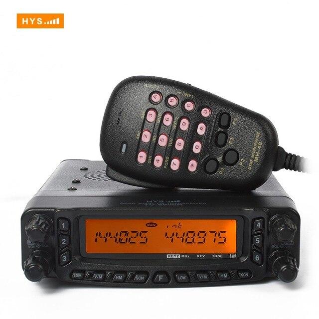 US $542 0 |Aliexpress com : Buy HYS TC 8900R Quad Band FM Transceiver CE  FCC 10 meter 6 meter 2 meter and 70cm Quad Band Vehicle Car Mobile Base  Radio