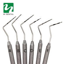 1 PC Gigi Stainless Steel Periodontal Probe dengan Scaler Explorer Alat Instrumen Dentofacial Ortopedi Peralatan Bahan Probe(China)