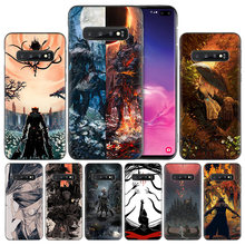 Bloodborne กรณีซิลิโคนสีดำสำหรับ Samsung Galaxy S10 S10e 5G S9 S8 S7 Edge J8 J6 J4 Plus 2018 M40 M30 M20 M10 Fundas Capa(China)