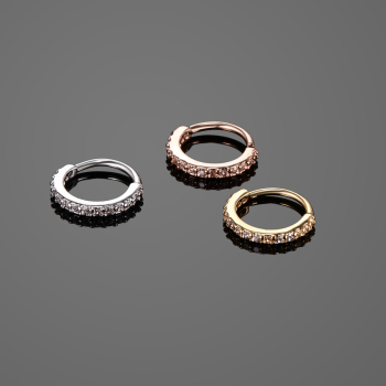 Small Size Real Septum Rings Pierced Piercing Body Jewelry 5