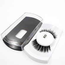 SHIDISHANGPIN 1 pair thick false eyelashes 3dmink  natural long lashes makeup