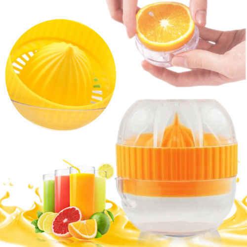 Cor amarela Prensa Manual Espremedor de Frutas Mini Multifuncionais Utensílios de Cozinha Máquina de Suco de Limão Citrus Laranja Limão Squeezers