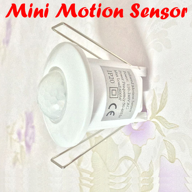 купить Newest AC 110V-240V 50Hz 360 Degree Mini Recessed PIR Ceiling Occupancy Motion Sensor Detector Switch Mini Sensor switch 1pc по цене 671.53 рублей