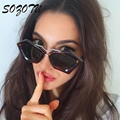 2017 Fashion Sunglasses Women Vintage Sun Glasses Ladies Brand Designer For Female Photochromic UV400 Lunettes Oculos YQ090