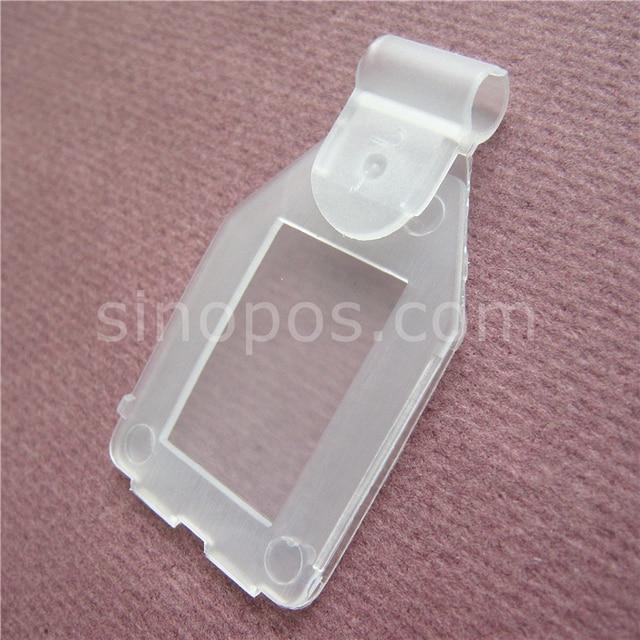 Clear Swing Tags 28mm, snap label holder scanning peg hook ...