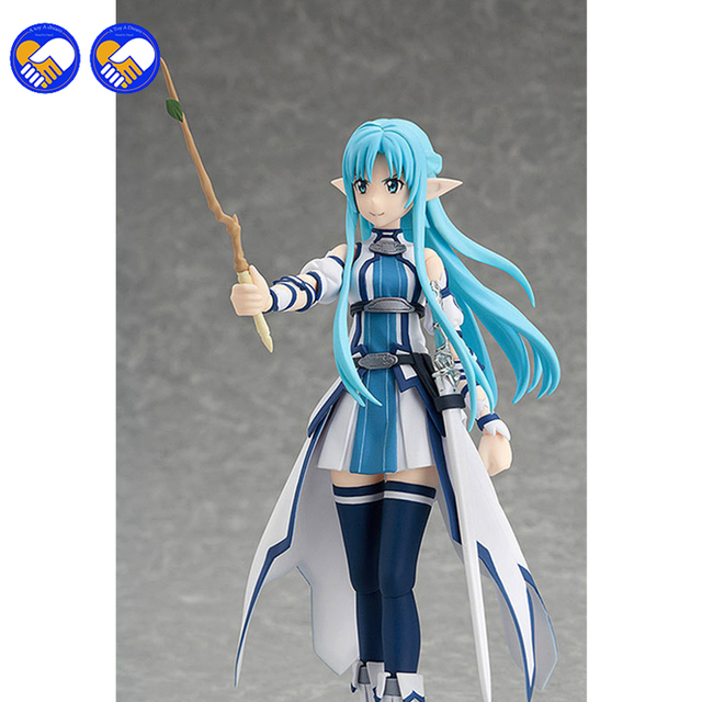 A toy A dream Anime Sword Art Online Figma 264 Yuuki Asuna Undine Special PVC Action Figure Collectible Model Toy 15cm 3