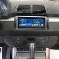 9 pulgadas HD1280 * 480 Quad Core Android Coches Reproductor de DVD Para BMW E39/X5/M5/E53 Con estructura en WIFI BT Radio Stereo Navegación GPS mapa