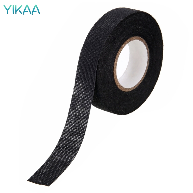 High Quality 1Pc 19mm Car Auto Wiring Harness Tape Adhesive Cable Protection MAR22