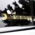 Estilo do carro Estacionamento Notificação Número Da Placa Do Carro Número de Telefone Cartão de Telefone Luminosa-Styling Acessórios Para Ford Focus 2