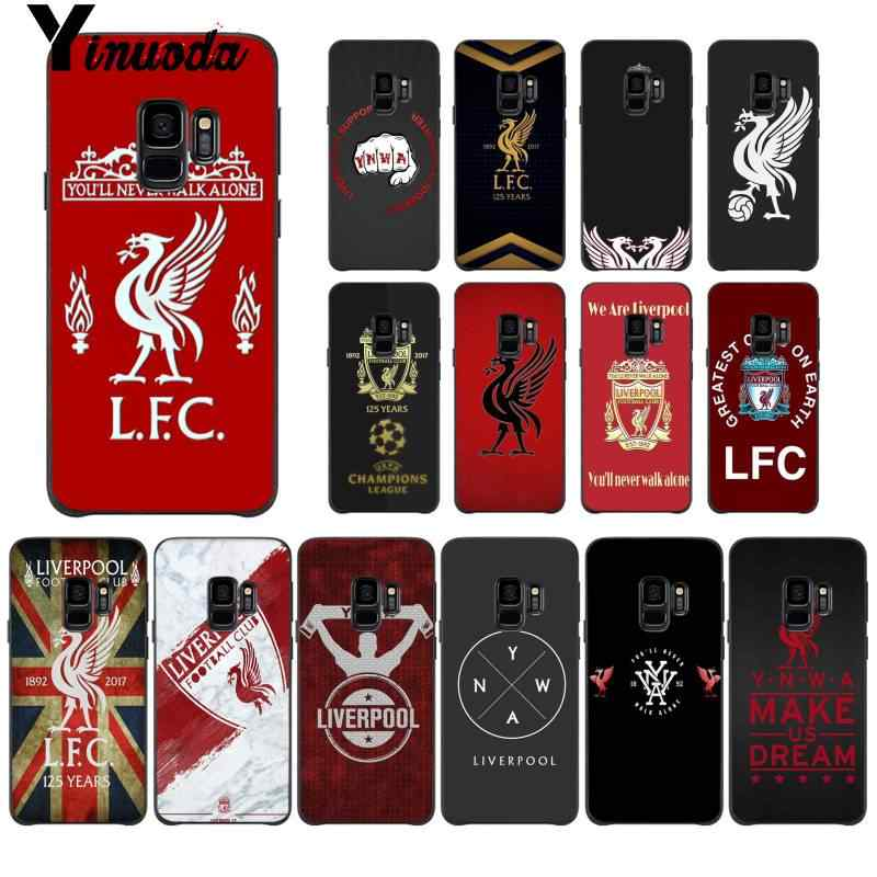 Yinuoda FC Liverpool soccer football Customer Customer Phone Case for Samsung Galaxy S8 S7 edge S6 edge plus S10 S9 Pluscase