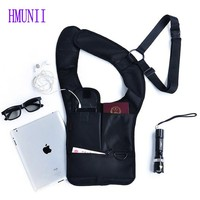 2014 VER 2 Novelty Fashion Agents Military S Bag Nylon Travel Anti Theft Safety Hidden Underarm