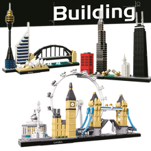 цены Bela Compatible legoing Blocks London Tower Bridge Big Ben Buckingham Palace Creator Architecture Building Blocks Bricks Gifts