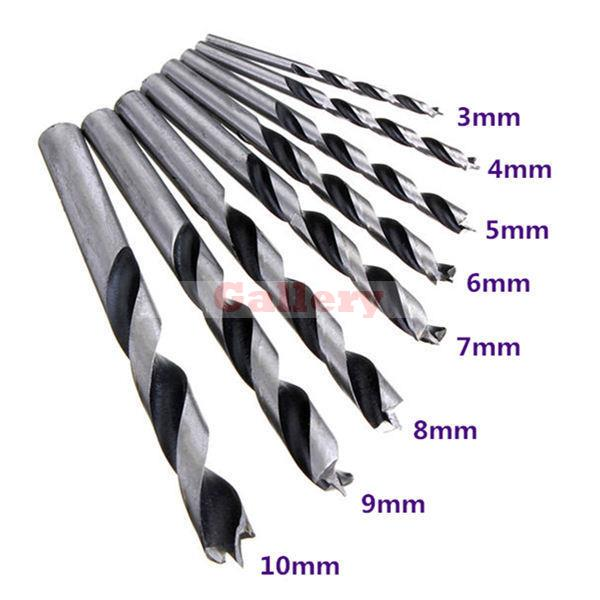 New Drill Bit Tool 8pcs 3-10mm Woodworking Set 3 Drill Bit Drill Bit Set Drill Bit кольцо коюз топаз кольцо т147016679