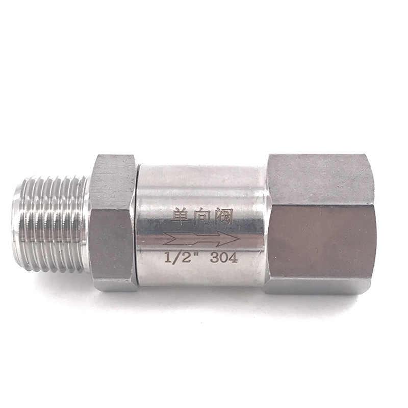 Check valve female thread high temperature acid-proof one-way check valve