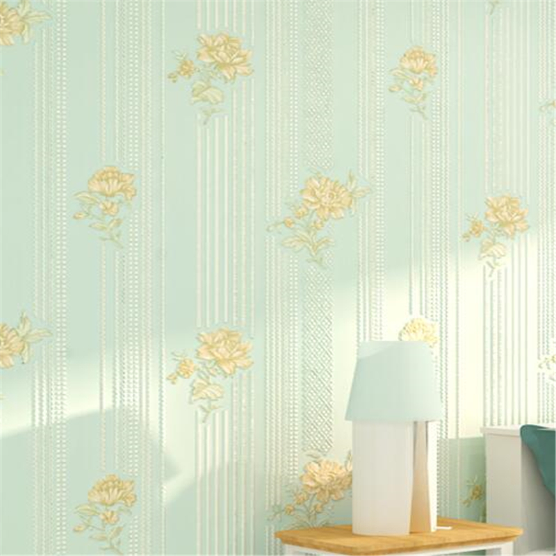 Unique Bedroom Wallpaper Warm Green Bedroom Colors Boys Bedroom Furniture Feng Shui Bedroom Bed Position: Beibehang Pastoral Style Small Floral Wallpaper Pink