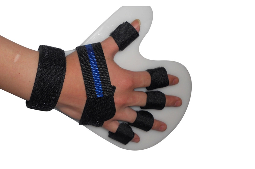 Hand Finger Rehabilitation Plate Orthotic Brace Sprained