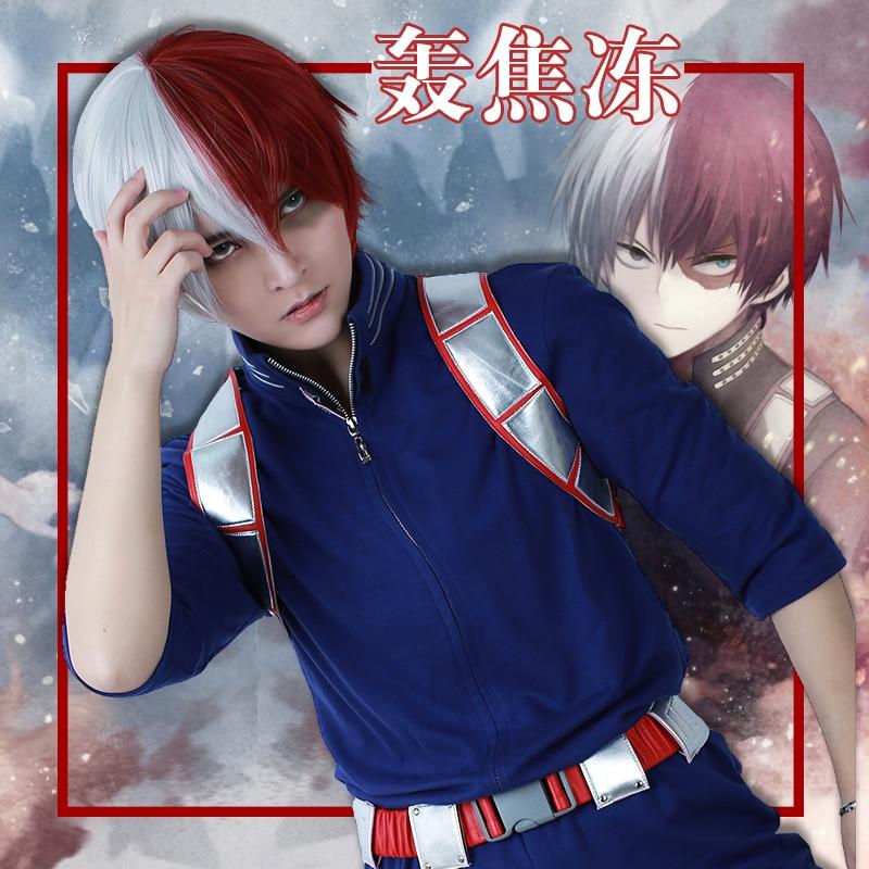 Shoto Todoroki Cosplay My Hero Academia Costume Uniform