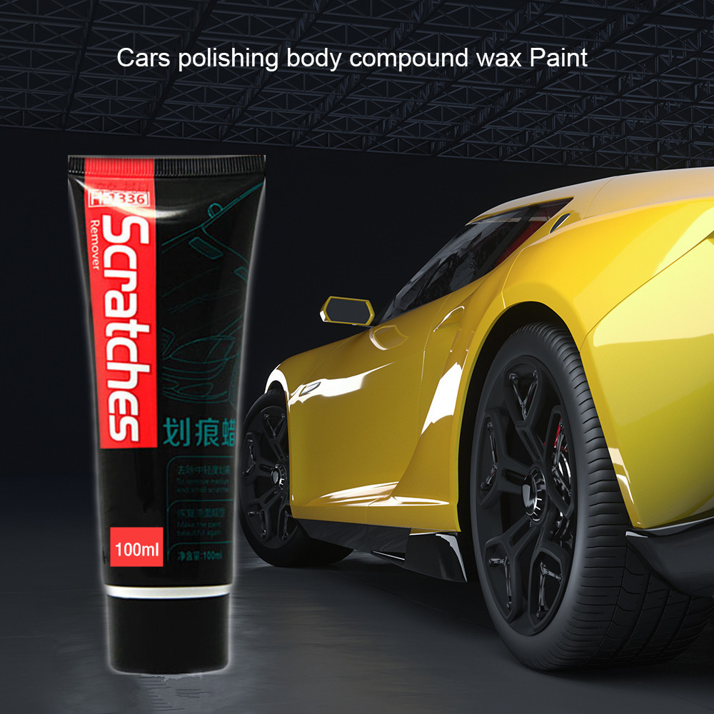 100ml Car Scratches Restoration Repair Auto Paint Care Polishing Wax Cream Paint Scratch Remover Care Car Cleaning Scratch Tool