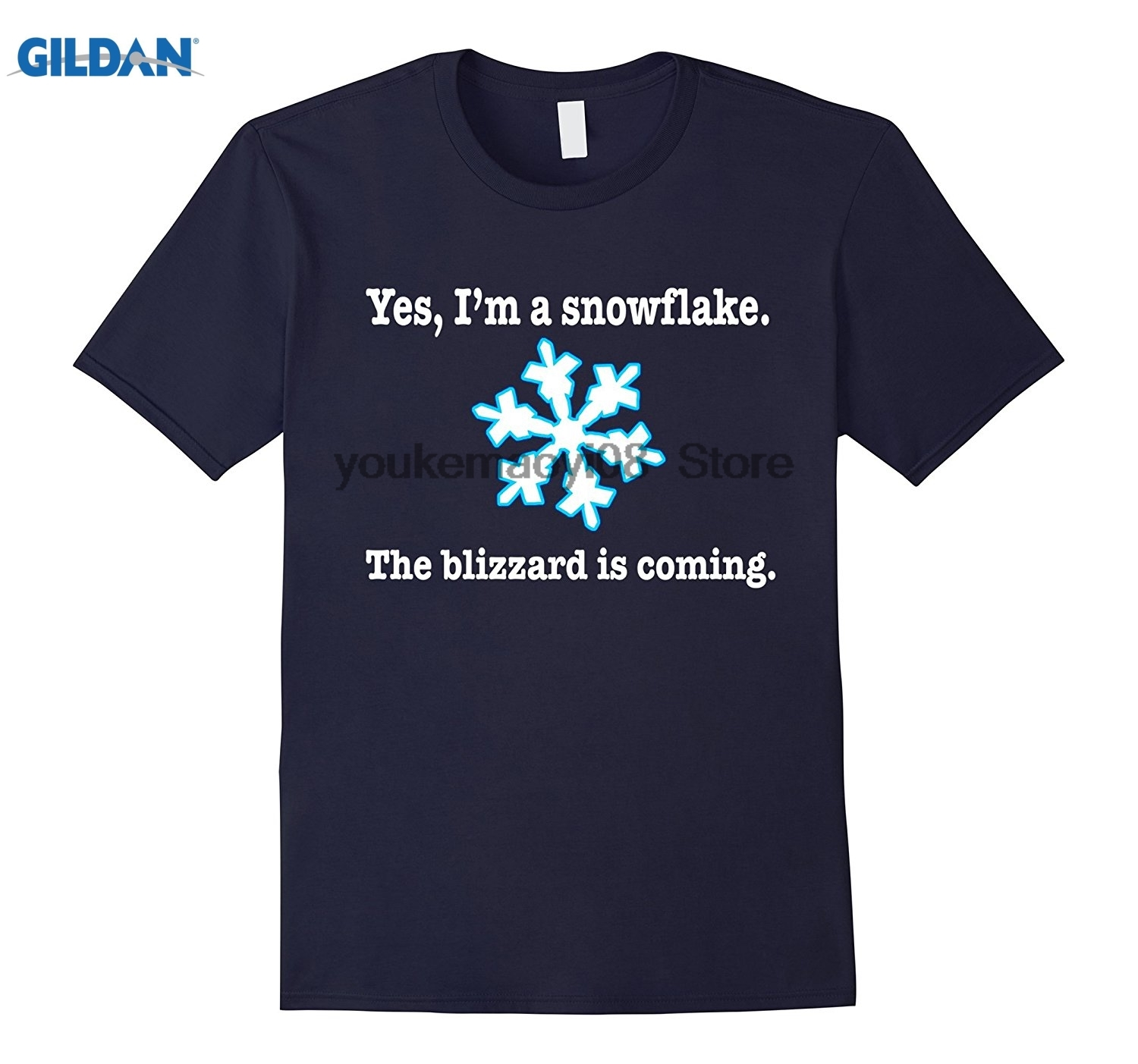 GILDAN Im A Snowflake The Blizzard Is Coming T-Shirt