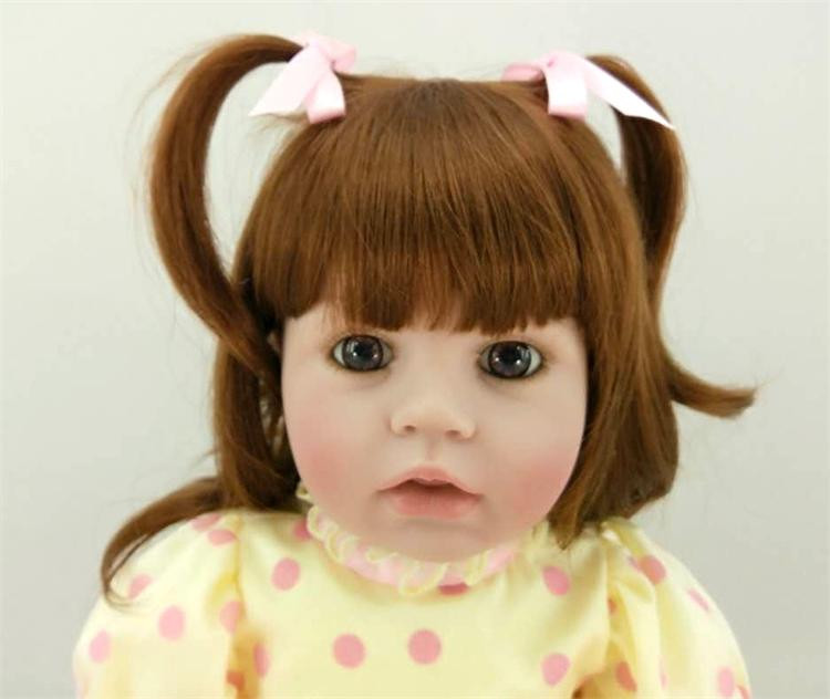 Silicone Reborn Baby Doll Toys Princess Babies