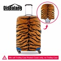 Leopard suitcase protective anti-scratch luggage cover protective suitcase covers clear waterproof spandex luggage protector