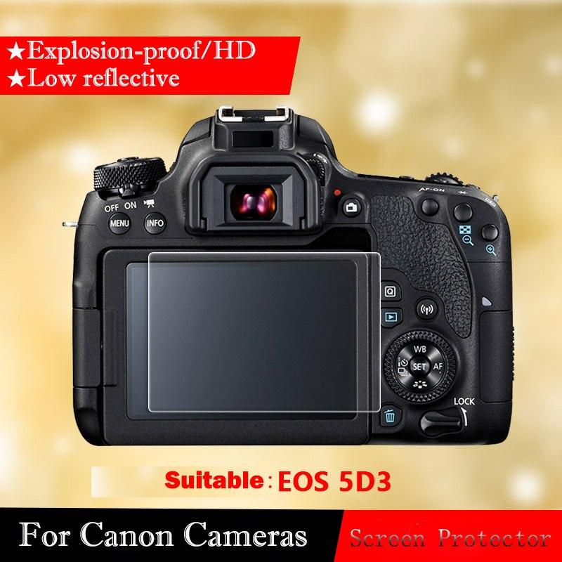 Anti-arañazos 9 H Film Protector de Pantalla de Vidrio Templado para Canon EOS 1200D 1300D