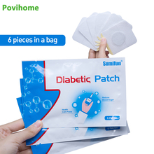 48 Pcs / 8 tas Patch Diabetes Menstabilkan Gula Darah Keseimbangan Konten Darah Glukosa Patch Herbal Alami Diabetes Plester Patch D1273