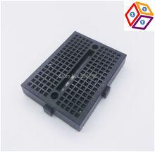 Black SYB-170 Mini Solderless Prototype Experiment Test Breadboard 170 Tie-points 35*47*8.5mm DIY Arduino ESP8266 Raspberry Pi