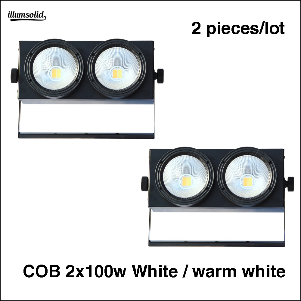 2Pcs/Lot rgbwa par led 2x100w White and warm stage spotlight tip top stage light2Pcs/Lot rgbwa par led 2x100w White and warm stage spotlight tip top stage light