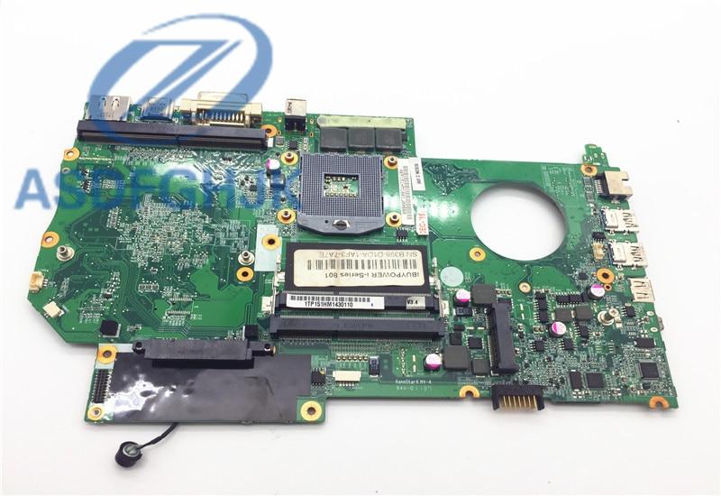 Laptop Anakart Hasee IÇIN Raytheon IÇIN CLEVO P150HM P151HM anakart 6-71-x5100-d03 DDR3 Olmayan entegre % 100% test TAMAM