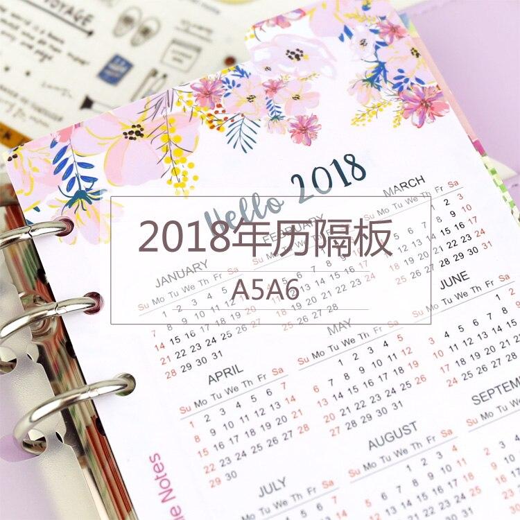 Jamie notas cuaderno espiral Accesorios 2018 Calendarios PP ...
