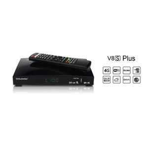 Image 5 - V8s plus receptor de satélite + 1 ano europa cccam clines DVB S2 MPEG 4 1080p hd completo sintonizador tv digital receptor vs v8 super v7