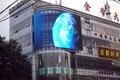 Www.fullcolorled-display.com P10 прозрачная стенка стекло из светодиодов дисплей / внутренняя реклама из светодиодов цифровой дисплей