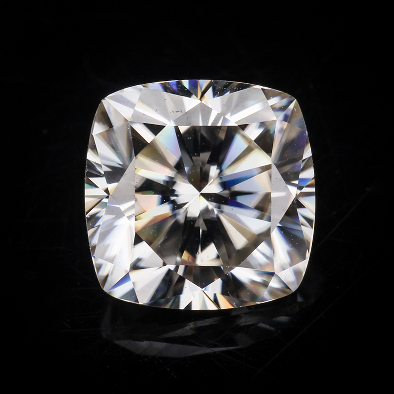 Excellent quality forever brilliant gh color white 8x8mm cushion cut moissanites gemstone for jewelry making